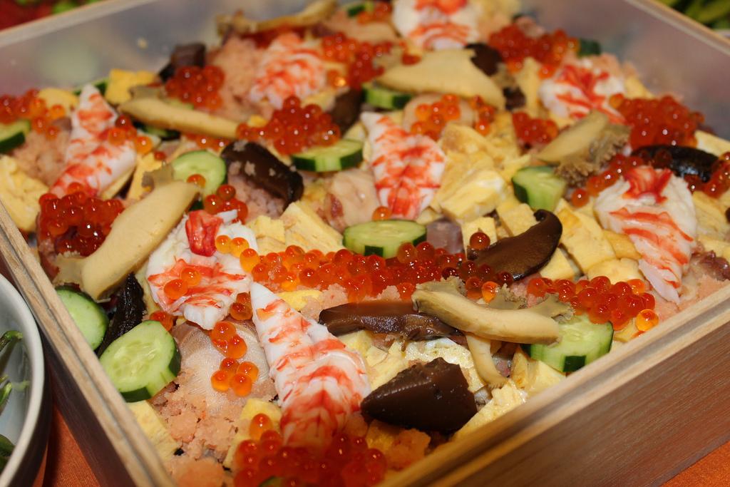 チラシ寿司 photo